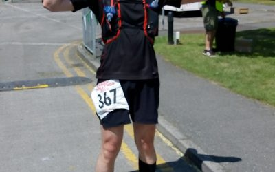 Running, injuries and charity